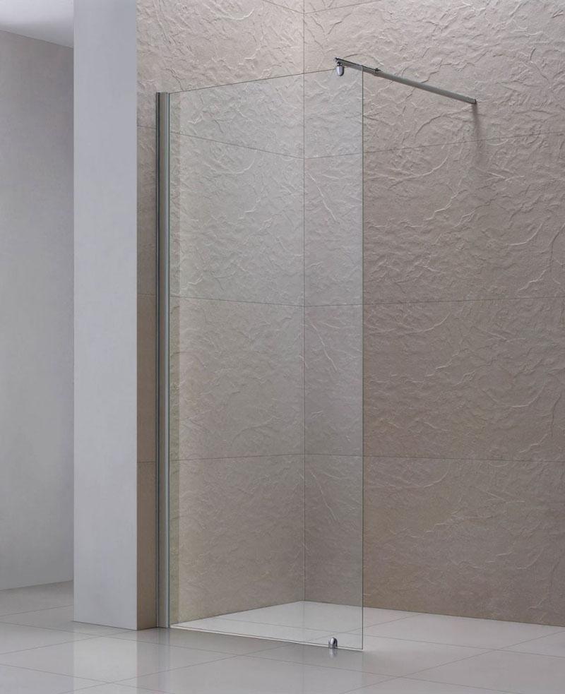 Как правильно выбрать стеклянную перегородку для душа