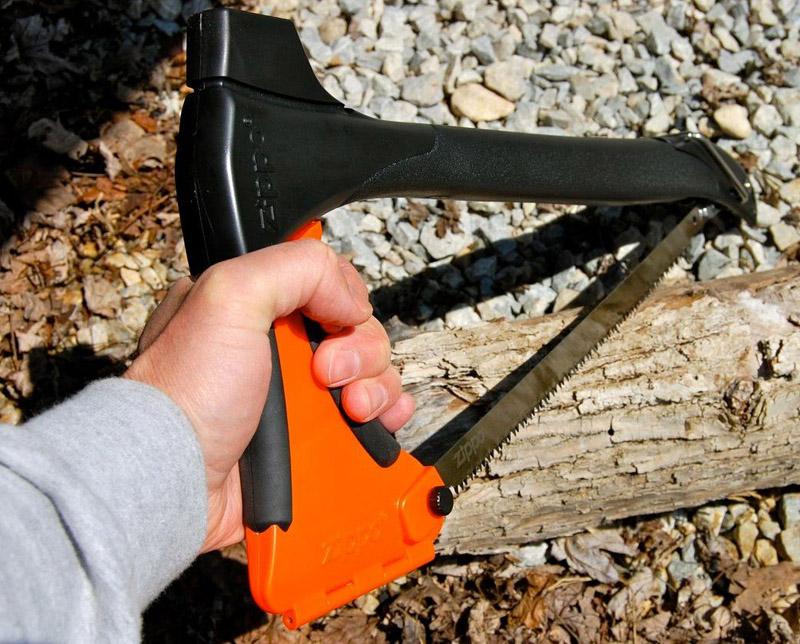 Ловкость рук – и обычный топор превращается в оригинальную ножовку