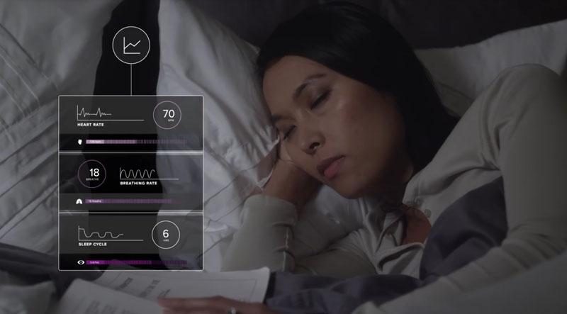 Пока вы спите, умный матрас запишет все данные и утром расскажет, насколько беспокойным был ваш сон