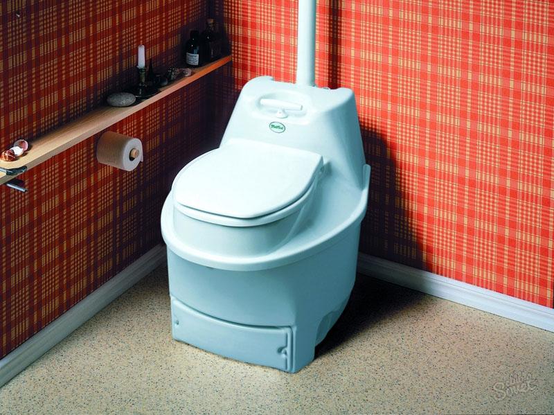 Химреагенты проводят местное обеззараживание, первичную переработку, система сливает жидкие и твёрдые отходы в разные емкости