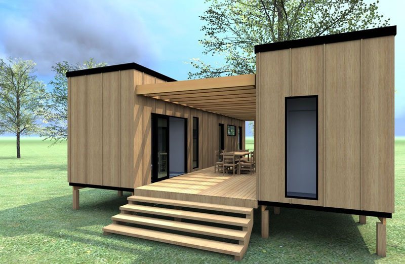 Дом из морского контейнера: готовые проекты комфортного жилья из бросового материала
