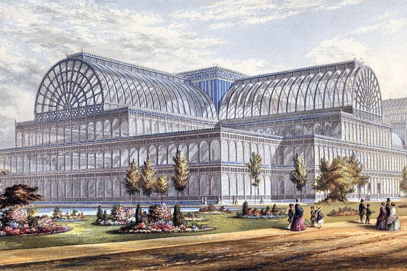 Хрустальный дворец Пакстона – интересное архитектурное решение. Жаль, что сгорел