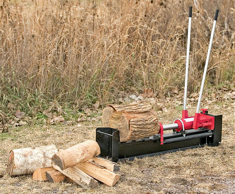 Без топора: как самостоятельно изготовить инструмент для колки дров с ножной педалью