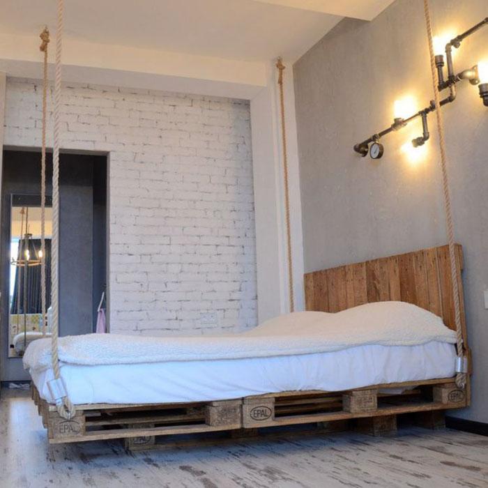 кровать из поддонов своими руками пошагово фото этапов и готовых
