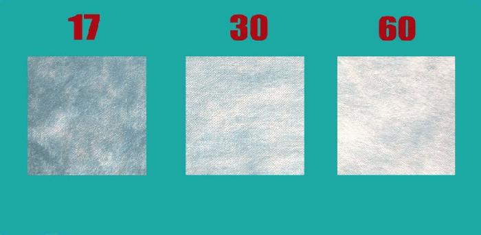 Характеристика укрывного материала зависит от его плотности