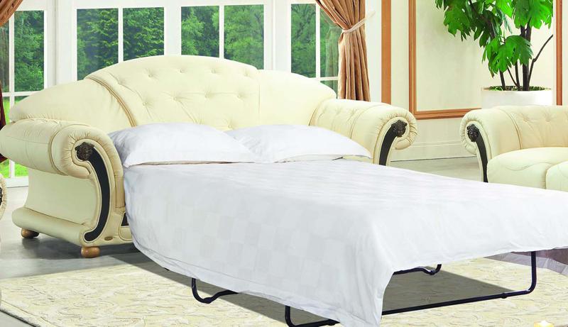 Днём – диван, ночью – полноценное спальное место. Суть трансформации в раскладывании сидения и спинки