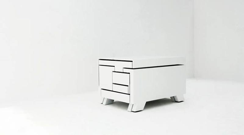 Мебель трансформер: неожиданные вариации на тему экономии пространства