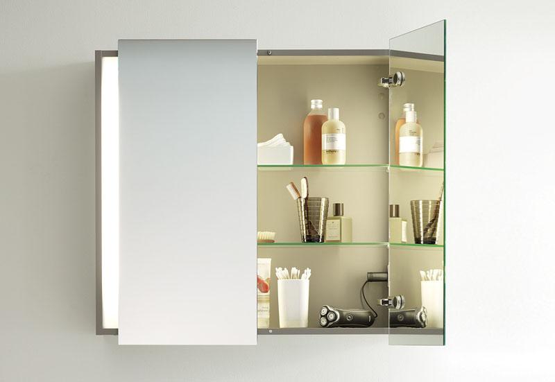 Просто и стильно! Навесной шкаф в ванную комнату – современные варианты его обустройства