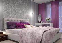 Обои для спальни: фото