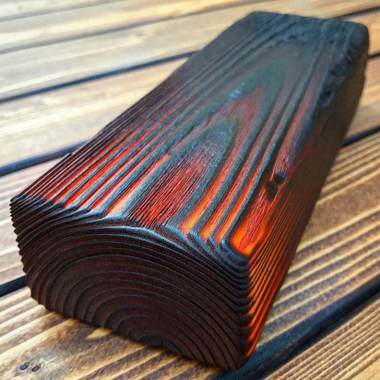 чем покрыть дерево после обжига