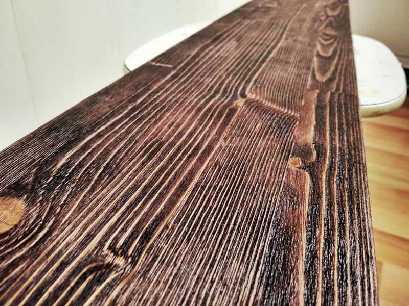 После термической обработки древесина приобретает изысканную, неповторимую фактуру