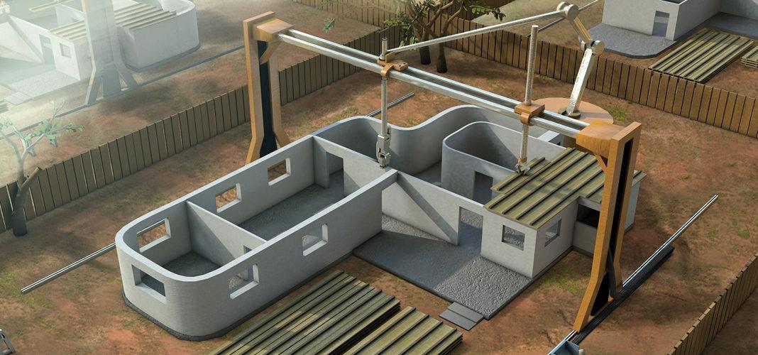 Применение 3D-принтера в строительстве
