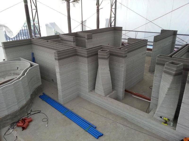 Современные 3D-принтеры могут учитывать конфигурацию и положение окон, а также применять архитектурные приемы, используя заранее созданные макеты