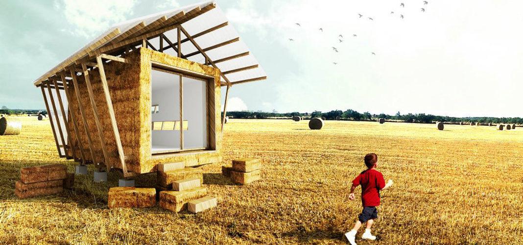 Соломенная технология домостроения