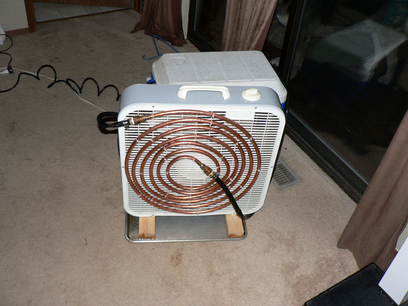 Кондиционер из старого холодильника, сделанный своими руками