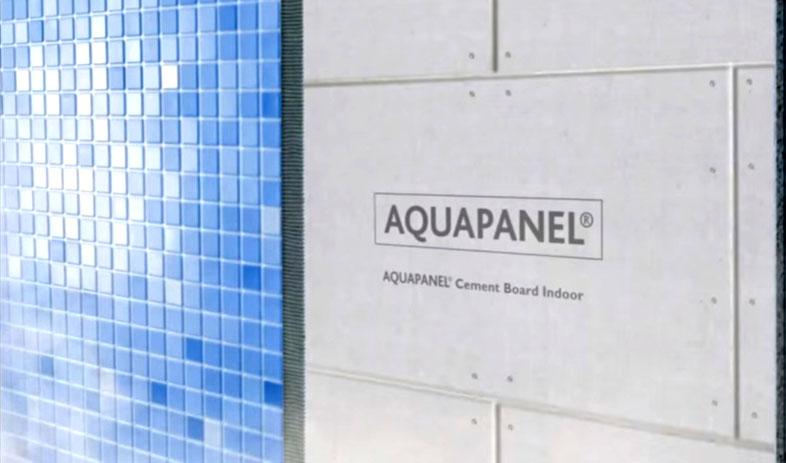 Использование при отделке бассейнов – в данном случае в качестве основания под смальту