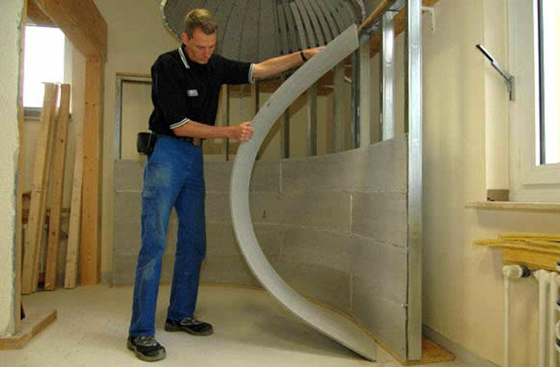 Гибкость – одна из отличительных особенностей, расширяющая возможности использования данного строительного материала