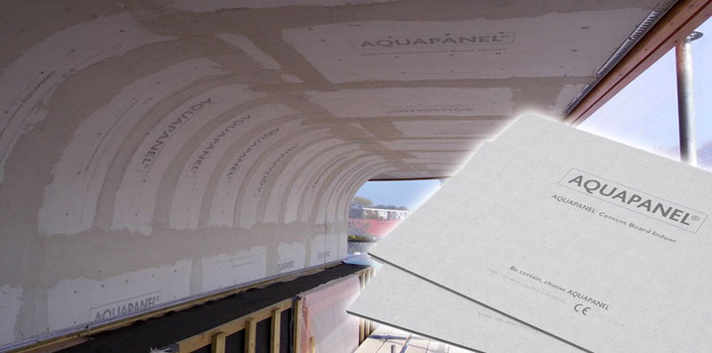 Гибкость изделий позволяет монтировать их на криволинейных поверхностях