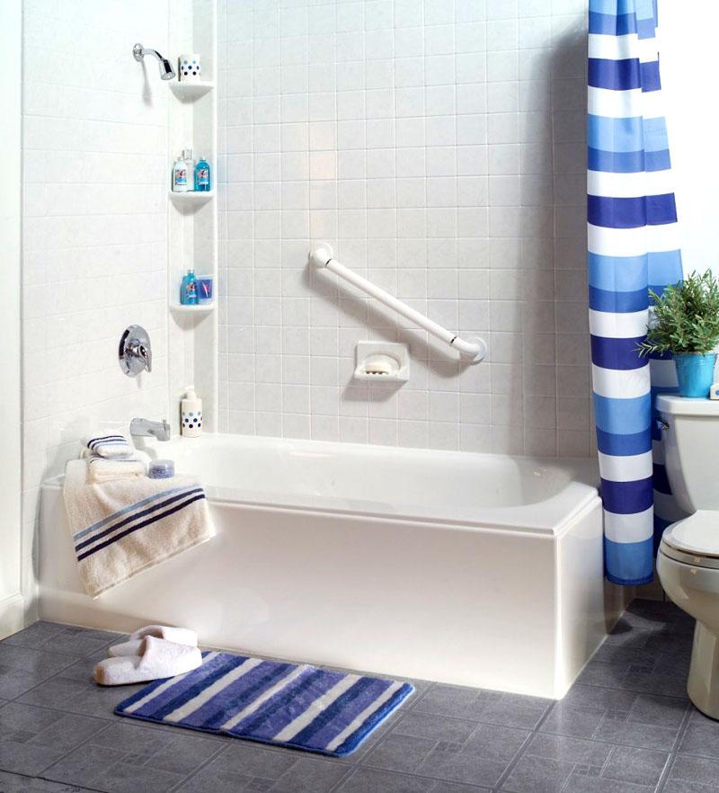Классическая акриловая вставка в чугунную ванну 150×70 мм