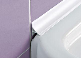 Практичные бордюры для ванных комнат