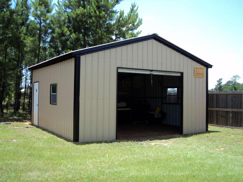 Хороший проект поможет собрать вот такой аккуратный гараж