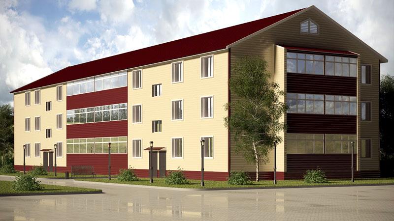 Мысли у проектировщиков действительно грандиозные, однако для постройки такого дома нужны очень опытные рабочие