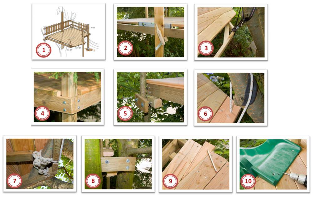 Технология строительства домика на дереве