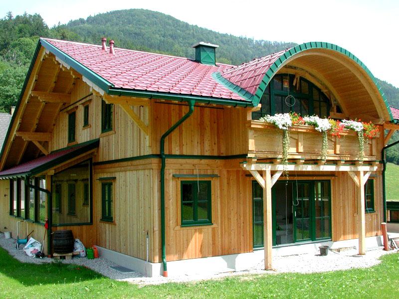 Новинки строительства: дома из вертикального бруса и в чём их преимущества