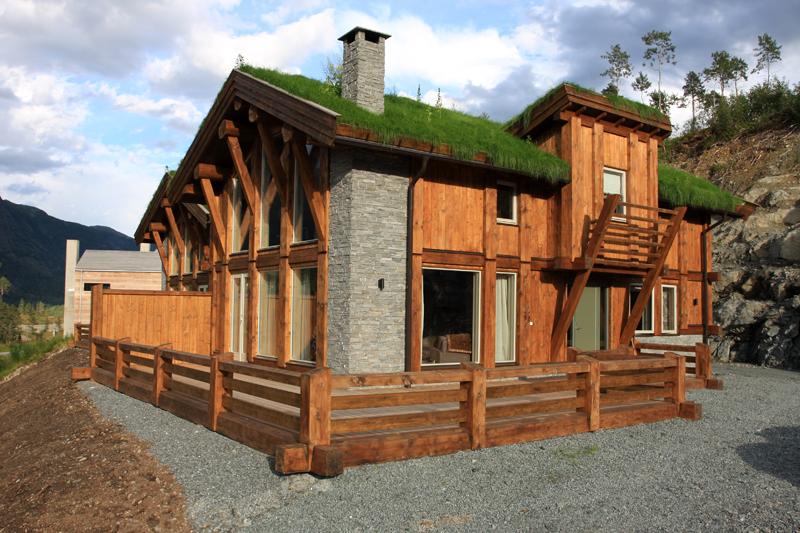 Дома из вертикального бруса