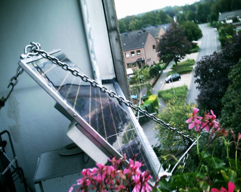 Многие устанавливают солнечные батареи на балконах многоквартирных домов