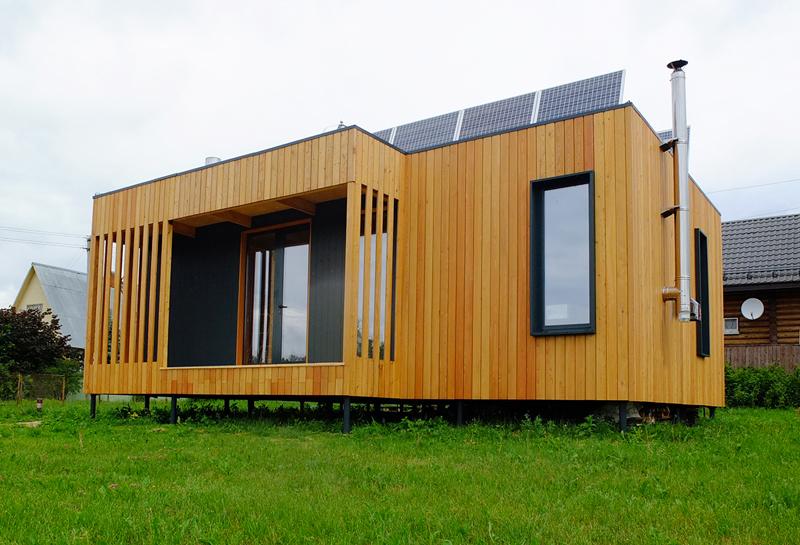Конструктивно быстровозводимые дома относятся к платформенным «каркасникам»