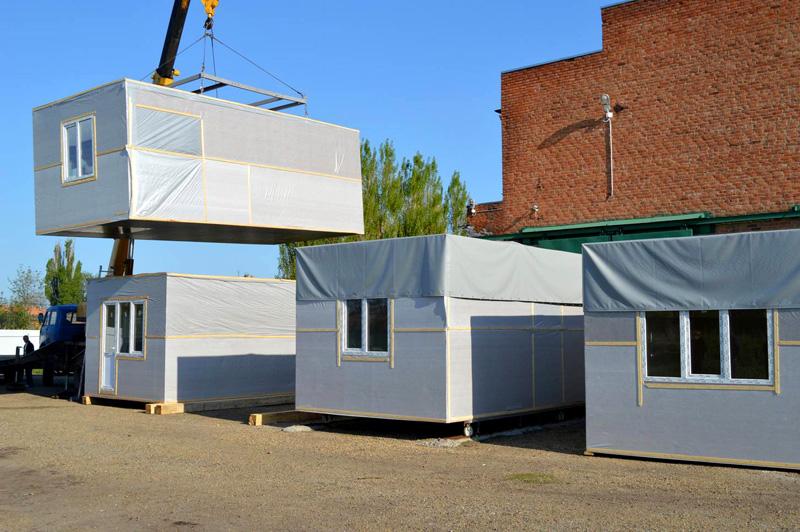 Данная технология позволяет получить готовое здание в сжатые сроки