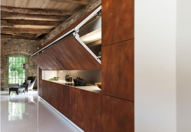 Фальш-мебель на кухне