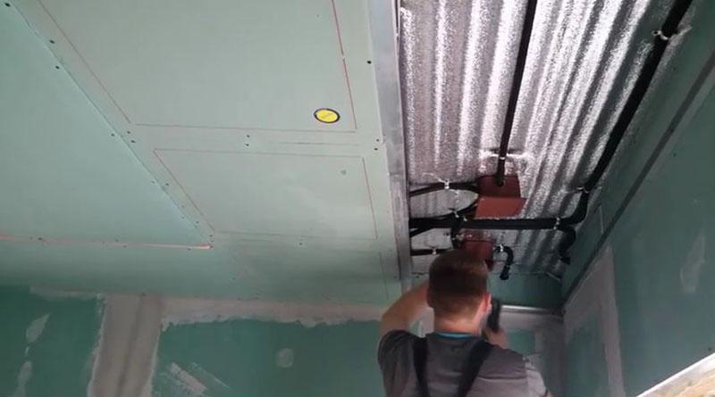 Система подключается к автоматическому терморегулятору, управляющему температурой воздуха