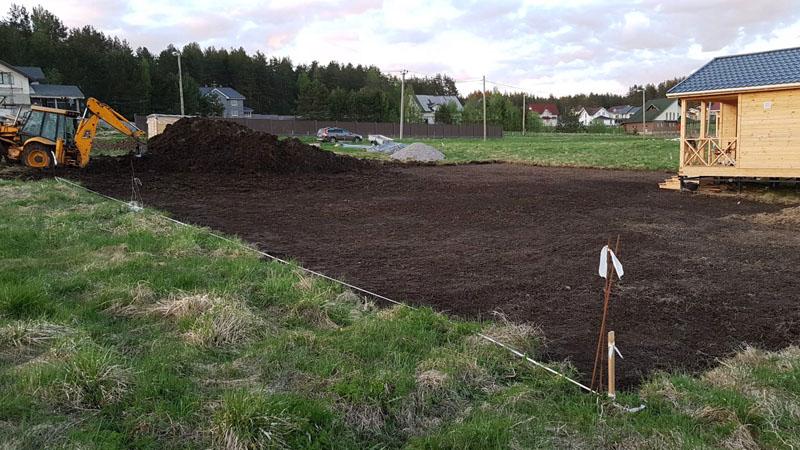 Чем лучше будет подготовлен участок, тем легче будет продвигаться строительство