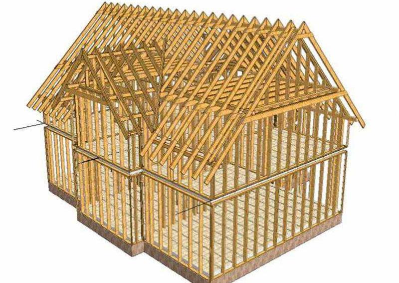 Проект каркасного дома можно сделать и на компьютере при помощи 3D моделирования