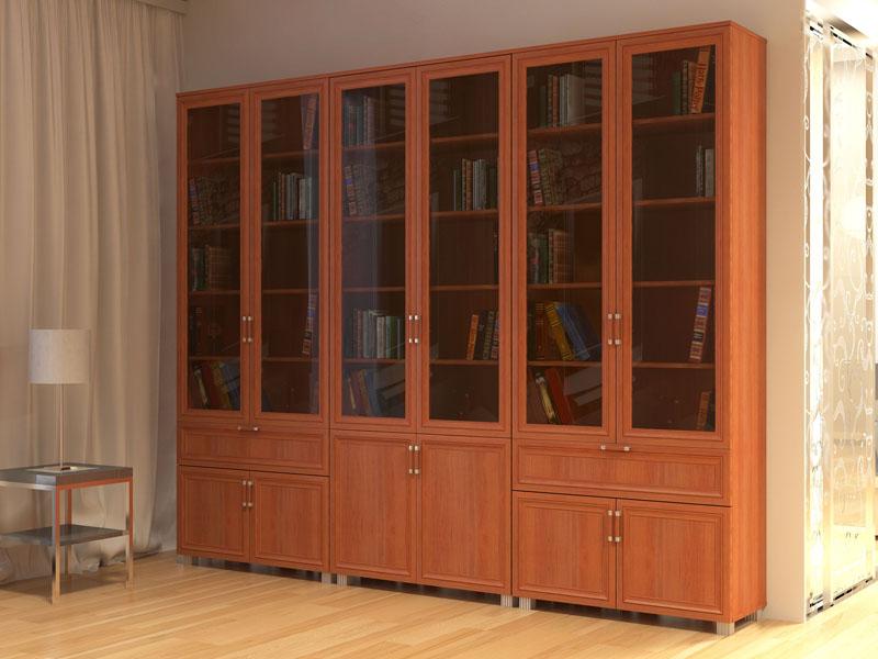 Распашные дверцы являются самым распространённым типом фасадов для домашней мебели