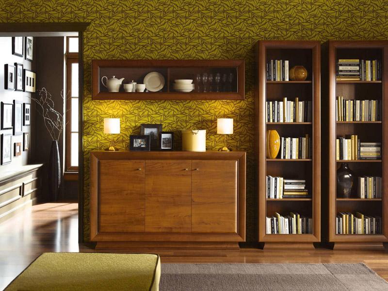 Шкафы для книг «Ларго Классик III»