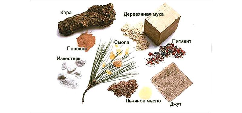 Сырьё для производства натурального линолеума