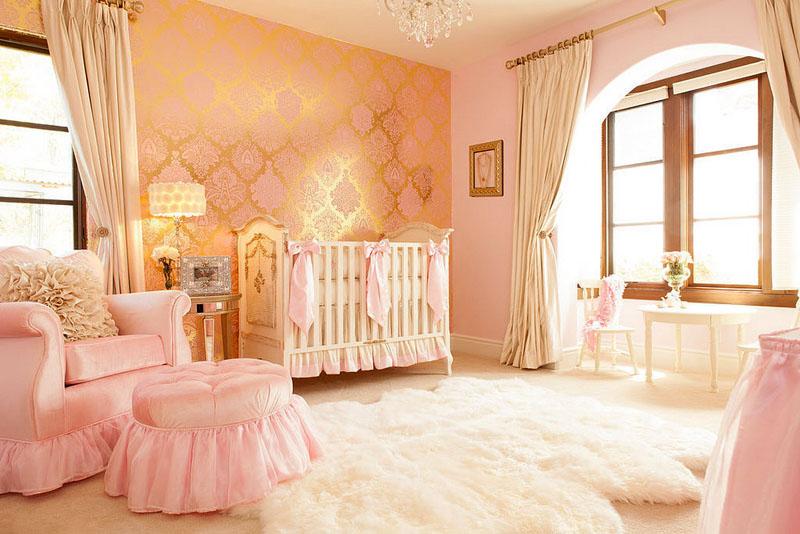 Тканевые обои в детской требуют периодической уборки