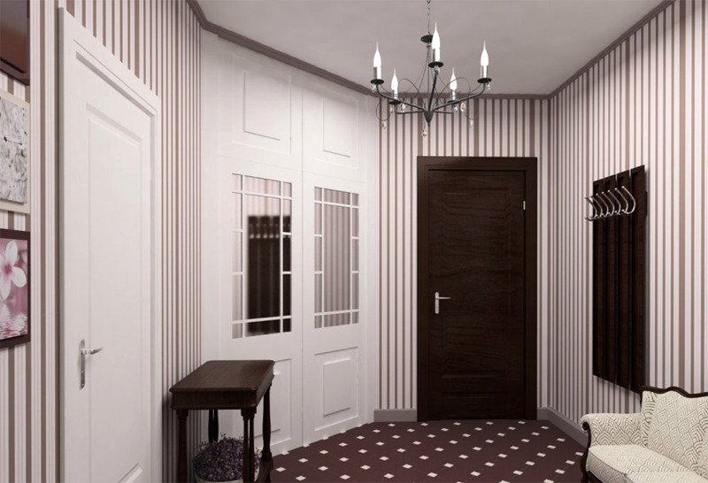 Для тех, кто выбирает обои для прихожей и коридора: 52 уникальных фото в интерьере
