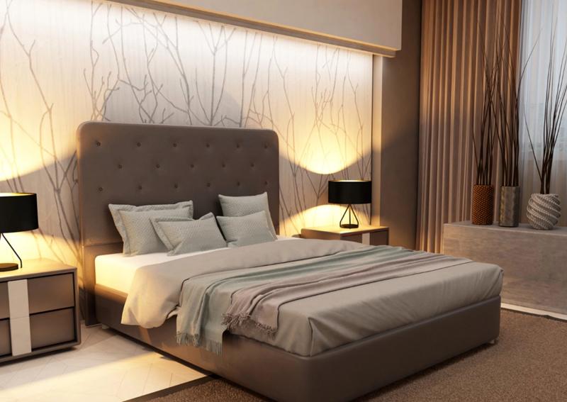 У «семейных» кроватей самый большой диапазон ширины, именно такой формат кроватей имеет большой размерный диапазон с шагом 5 см
