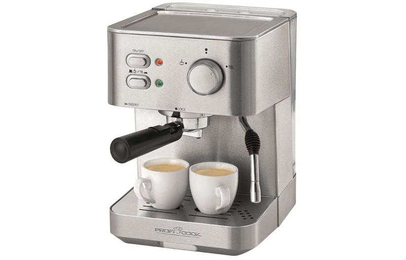Кофемашины могут быть довольно разнообразны как по типу, так и по внешнему виду