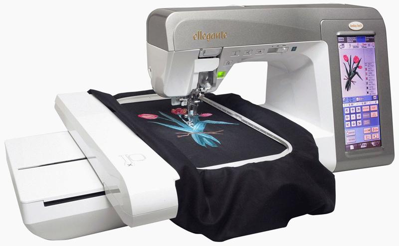 Вот так на футболке появляется рисунок с дисплея, вышитый цветными нитками