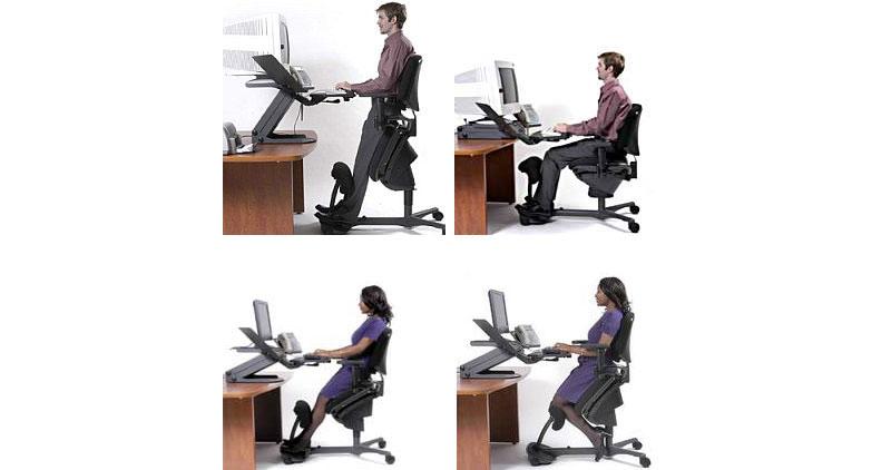 Многофункциональная конструкция «стоя-сидя»