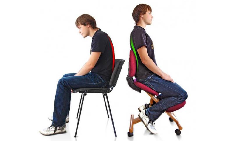 Кресло способствует правильному формированию костного скелета и улучшает кровоснабжение