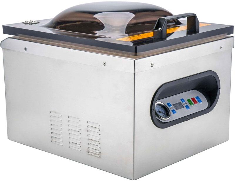Промышленные вакуумные упаковщики имеют большие габариты и более высокую мощность