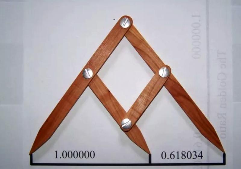 Разметчик Фибоначчи построен по правилу золотого сечения