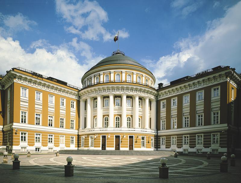 Кремлевское здание сената