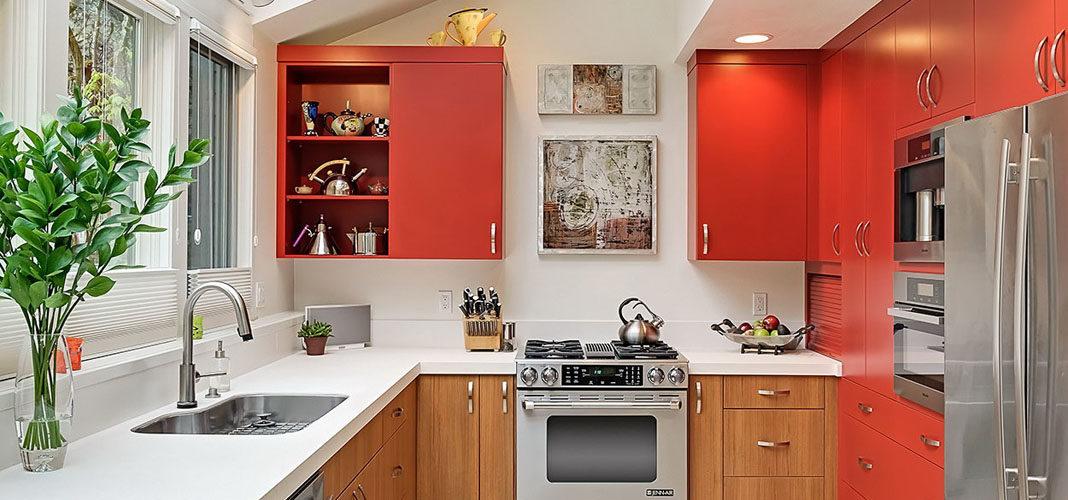 10 идей организации рабочей зоны на маленькой кухне
